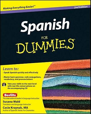 Spanish for Dummies By Wald, Susana/ Kraynak, Cecie